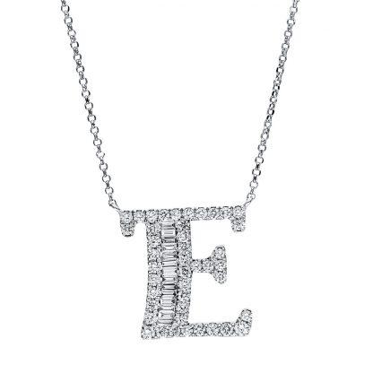 18 kt fehérarany nyaklánc 57 gyémánttal 4F479W8-1