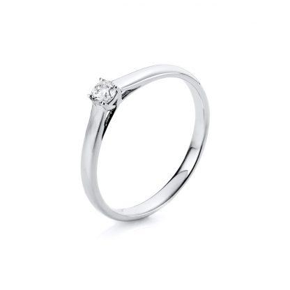 18 kt fehérarany szoliter 1 gyémánttal 1A440W854-11
