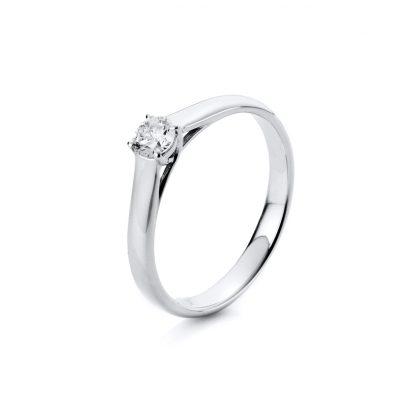 18 kt fehérarany szoliter 1 gyémánttal 1A442W852-3