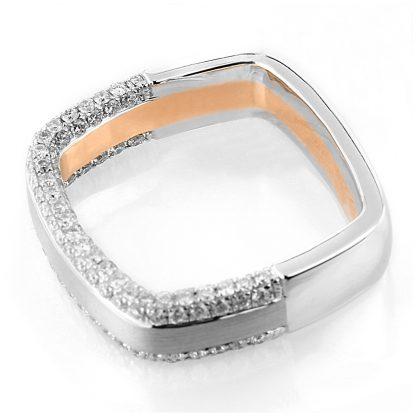 18 kt  multi stone with 144 diamonds 1C405WR856-1