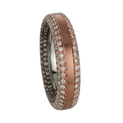 18 kt  multi stone with 368 diamonds 1C401WR856-1