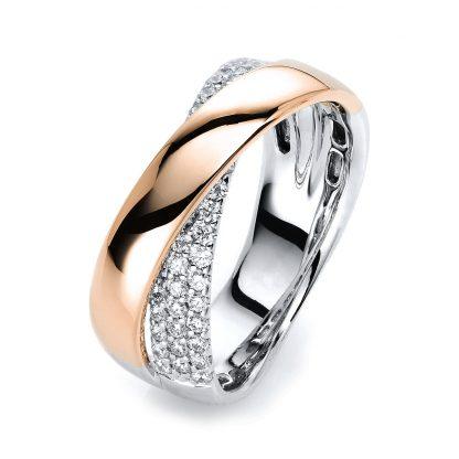 18 kt  multi stone with 44 diamonds 1H364WR854-1