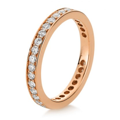 18 kt red gold eternity full with 35 diamonds 1B894R854-2