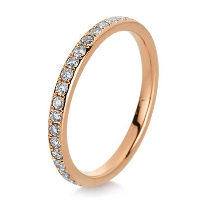 18 kt red gold eternity full with 38 diamonds 1C356R854-1