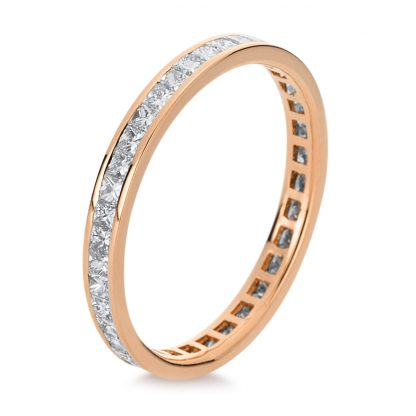 18 kt red gold eternity full with 41 diamonds 1A948R854-1
