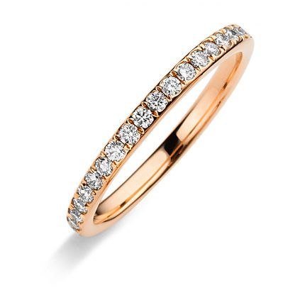 18 kt red gold eternity full with 50 diamonds 1C372R853-2
