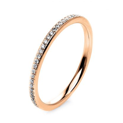 18 kt red gold eternity full with 60 diamonds 1G724R853-2