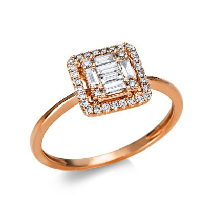 18 kt red gold illusion with 38 diamonds 1U548R854-1