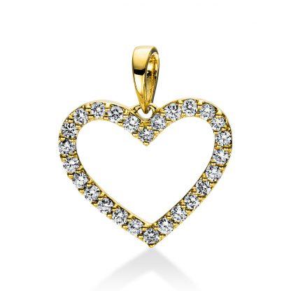 18 kt sárga arany medál 26 gyémánttal 3D767G8-2
