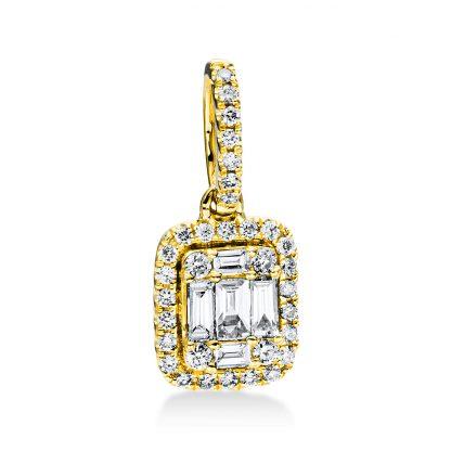 18 kt sárga arany medál 38 gyémánttal 3D820G8-1