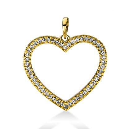 18 kt sárga arany medál 50 gyémánttal 3D815G8-1