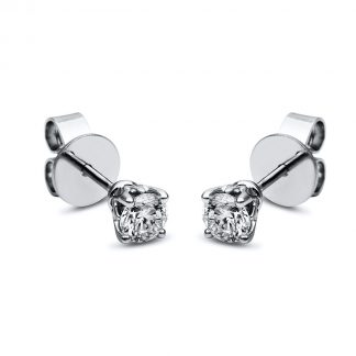 18 kt  steckeres 2 gyémánttal 2F659WP8-1