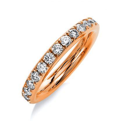 18 kt vörös arany körbe köves eternity 27 gyémánttal 1B823R853-1