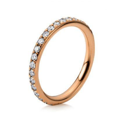 18 kt vörös arany körbe köves eternity 35 gyémánttal 1B827R853-1
