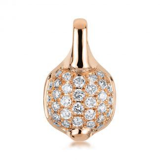 18 kt vörös arany medál 32 gyémánttal 3A469R8-1
