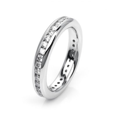 18 kt white gold eternity full with 36 diamonds 1H352W852-1