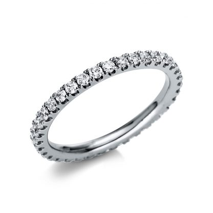 18 kt white gold eternity full with 36 diamonds 1T991W853-1