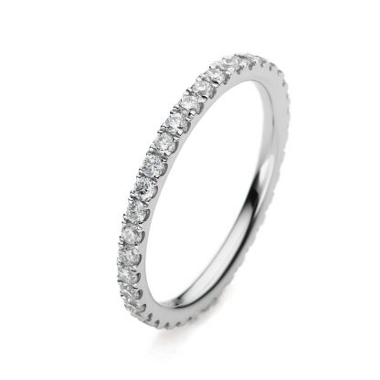 18 kt white gold eternity full with 37 diamonds 1A961W852-3