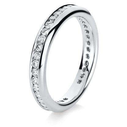 18 kt white gold eternity full with 39 diamonds 1B872W854-1