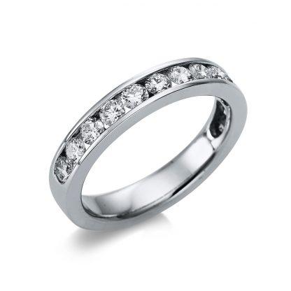 18 kt white gold eternity half with 13 diamonds 1G066W853-2