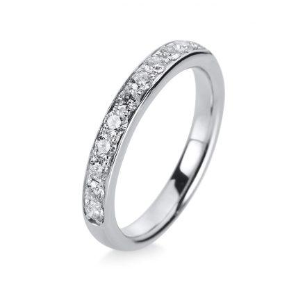 18 kt white gold eternity half with 15 diamonds 1G547W854-1