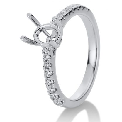 18 kt white gold mounting with 16 diamonds 1B222W853-4
