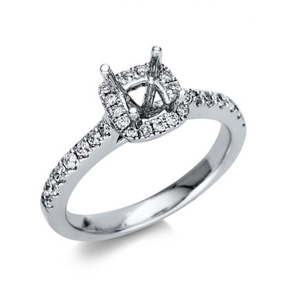 18 kt white gold mounting with 30 diamonds 1U045W853-1