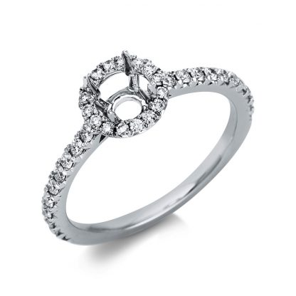 18 kt white gold mounting with 36 diamonds 1T164W854-1