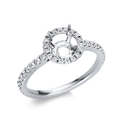 18 kt white gold mounting with 38 diamonds 1T387W854-2
