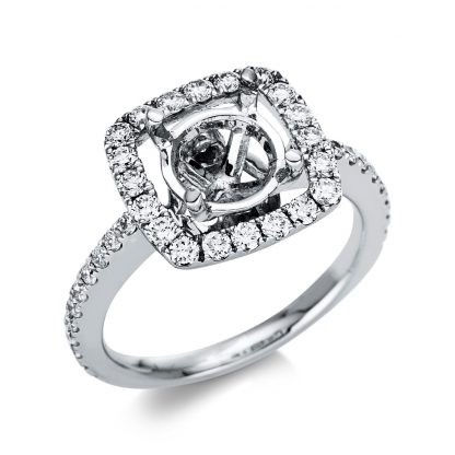 18 kt white gold mounting with 46 diamonds 1U057W853-1