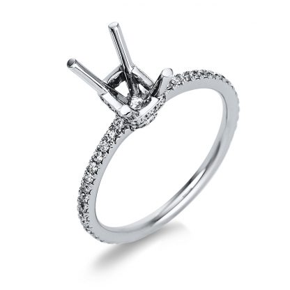18 kt white gold mounting with 60 diamonds 1T195W853-1