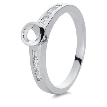18 kt white gold mounting with 8 diamonds 1A869W856-1