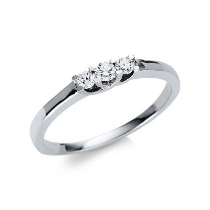 18 kt white gold multi stone with 3 diamonds 1U509W854-2