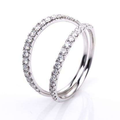 18 kt white gold multi stone with 38 diamonds 1G148W854-2