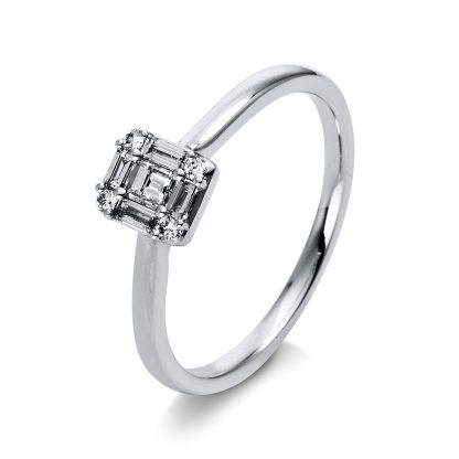 18 kt white gold multi stone with 9 diamonds 1G985W854-3