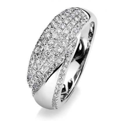 18 kt white gold pavé with 109 diamonds 1A655W855-2