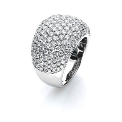 18 kt white gold pavé with 184 diamonds 1A593W853-1