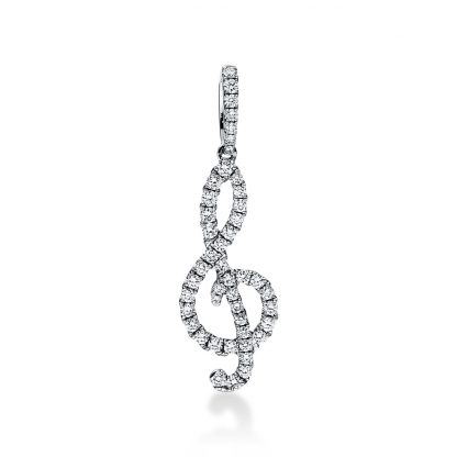 18 kt white gold pendant with 46 diamonds 3D874W8-1