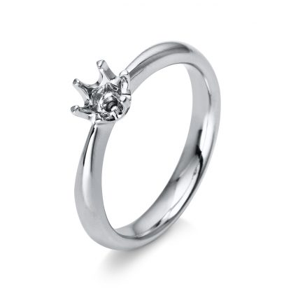 18 kt white gold solitaire  1C484W851-2