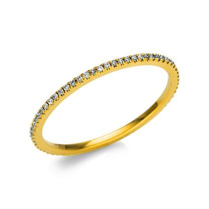 18 kt yellow gold eternity full with 66 diamonds 1M957G853-1