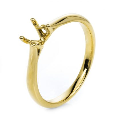 18 kt yellow gold mounting  1C460G855-1