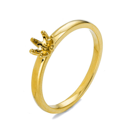 18 kt yellow gold mounting  1O325G855-1