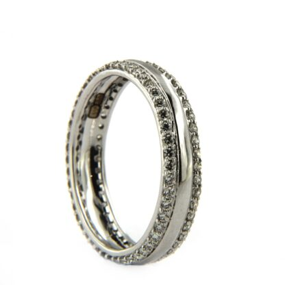 White gold ring with diamond 42399 01