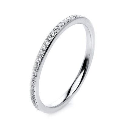 14 kt fehérarany körbe köves eternity 60 gyémánttal 1G724W454-1