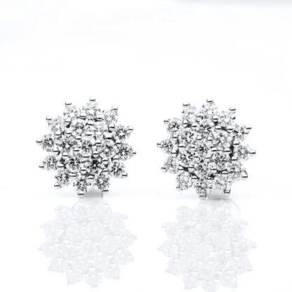 18 kt fehérarany steckeres 38 gyémánttal 2C359W8-3