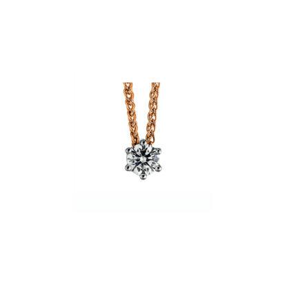 18 kt  nyaklánc 1 gyémánttal 4A343RW8-1
