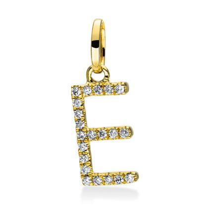 18 kt sárga arany medál 21 gyémánttal 3D714G8-1