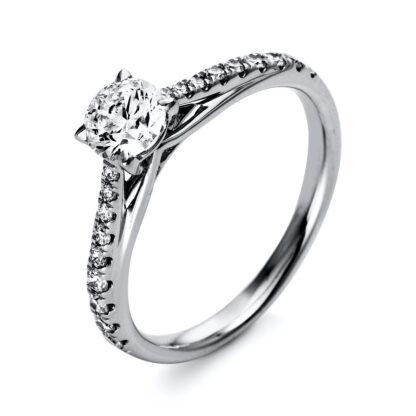 18 kt  szoliter oldalkövekkel 19 gyémánttal 1O295WP853-1