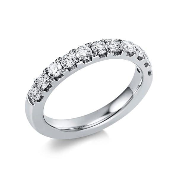 14 kt fehérarany félig köves eternity 11 gyémánttal 1V553W454-1