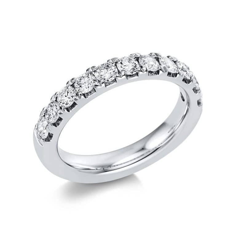 14 kt fehérarany félig köves eternity 11 gyémánttal 1V554W454-1